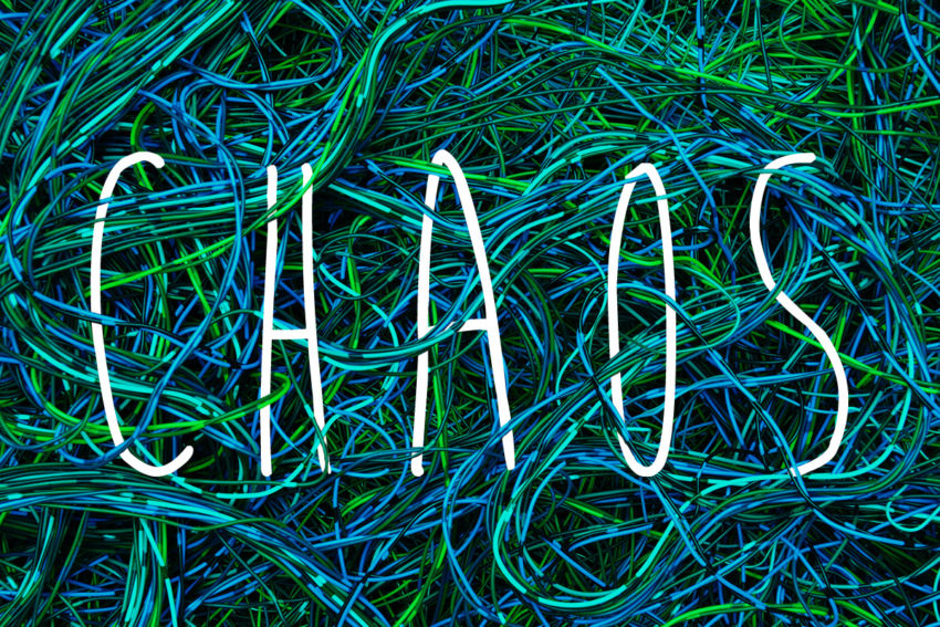 Three Behaviors to Manage the Chaos in Your Life